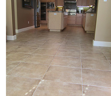 Tile and grout our company cleaned in San Ramon, CA